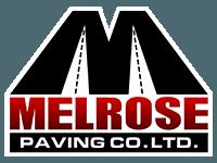 Melrose Paving Logo