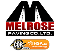 Melrose Paving Logo